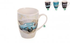 CANECA PORCELANA 375 ML ESTAMPADA